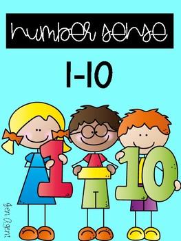 Number Sense 1-10 {Using Fine Motor Skills}