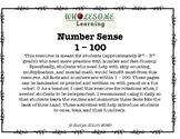 Number Sense 1-100