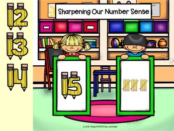 Number Sense (1-20) Activities For GOOGLE CLASSROOM
