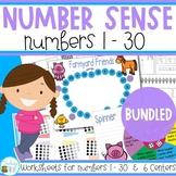 Number Sense 1 - 30 Bundle