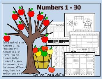 Number Sense 1 - 30