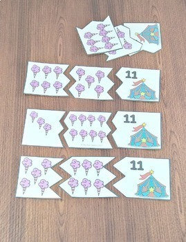 Number Sense 1 to 12 Center Activities and Worksheets