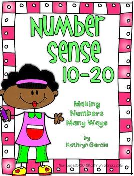 Number Sense 10-20: Making Numbers Many Ways