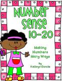 Number Sense 10-20 Making Numbers Many Ways
