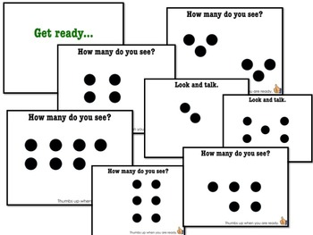 Number Sense: 100% Editable, 100% AWESOME Powerpoint!  Quick Dots Number Talks