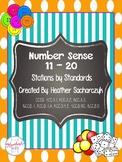 Number Sense 11 - 20
