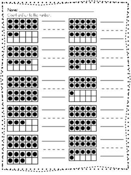 Number Sense #11-20 Assessment
