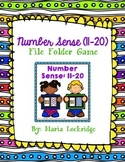 Number Sense (11-20) File Folder Game