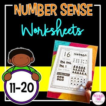 Number Sense (11-20) Worksheets