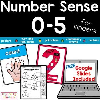 Number Sense: Numbers 0-5 For Kinders