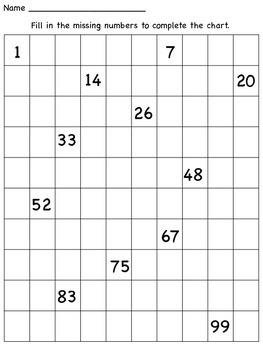 Number Sense-Math Centers