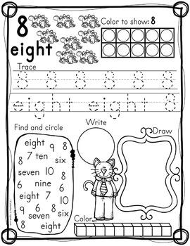 Number Sense Worksheets