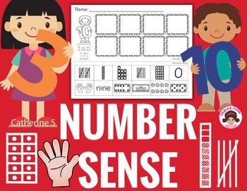 Number Sense to 10 Worksheets
