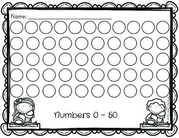 Number Sense Worksheets