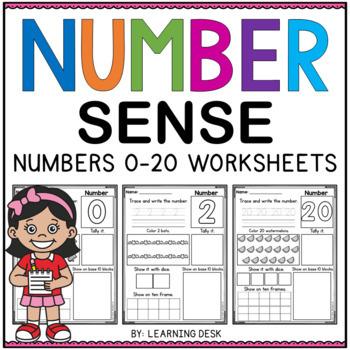Number Worksheets - Number Sense 0 to 20