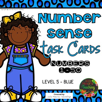 Number Sense Activities: Number Sense Task Cards with Self