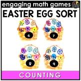 Easter Math Game - Number Sense Math Activity