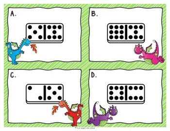 Number Sense Activity 7-18 Dragons and Dominoes