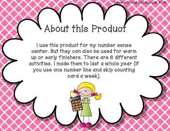 Number Sense Activities!