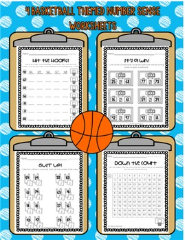Number Sense Slam Dunk- Numbers 1-120