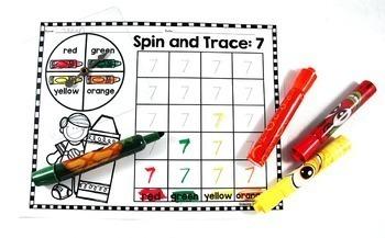 Number Sense Centers Bundle:  Print and Play