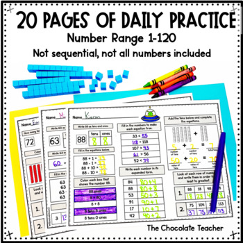 Number Sense Activities Daily Math Month 7 Number and Operations in Base 10