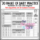 Daily Math CCSS Aligned Place Value Number Sense Worksheets Centers 1st Grade 9