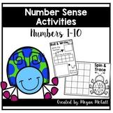 Number Sense Activities (Numbers 1-10)