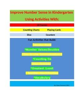 Number Sense Activities for Kindergarten and 1st Graders