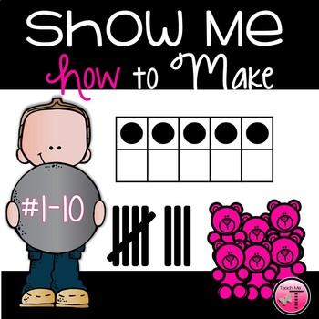 Number Sense Activity 1-10