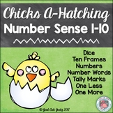 Number Sense Activity 1-10 Chicks A-Hatching