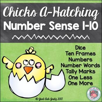 Number Sense Activity 1-10 Chicks A-Hatching
