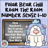 Number Sense Activity 1-10 Polar Bear Chill