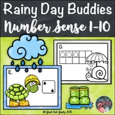 Number Sense Activity 1-10 Rainy Day Buddies