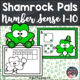 Number Sense Activity 1-10 Shamrock Pals