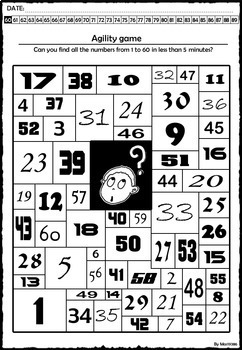 Number Sense Activity Book NO PREP