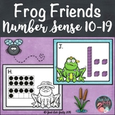 Number Sense Activity Frog Friends Teen Numbers 10-19