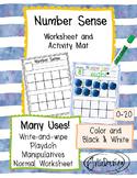 Number Sense Activity Mats or Worksheets