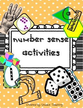 Number Sense Activity Pack