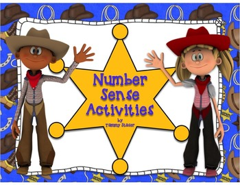 Number Sense Activity Packet with Western Theme