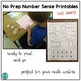 No Prep Number Sense Activity Pages FREE SAMPLE