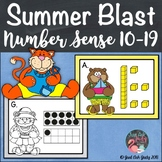 Number Sense Activity Summer Blast Teen Numbers 10-19