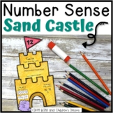 Number Sense Activity | Summer Craft | Sandcastle Math
