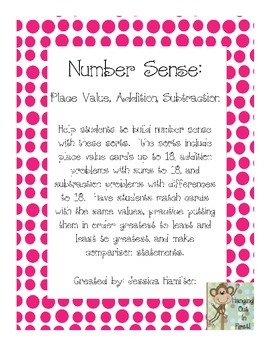 Number Sense: Addition, Subtraction, Place Value