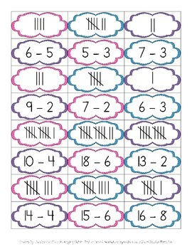 Number Sense: Addition, Subtraction, Tally Marks