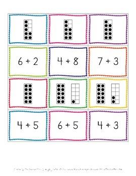 Number Sense: Addition, Subtraction, Ten Frames
