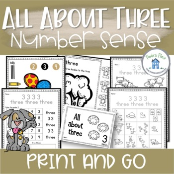 Number Sense - All About 3