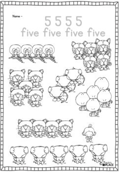Number Sense All About 5