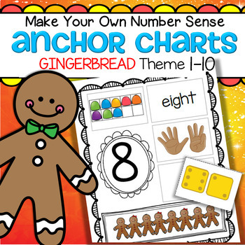 GINGERBREAD Number Sense Make Your Own Anchor Charts