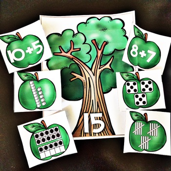Apples ! Apple Tree Number Sense Center